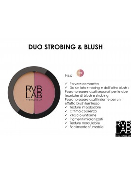 DUO STROBING & BLUSH RVB LAB
